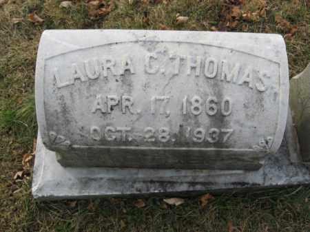 THOMAS, LAURA C. - Lehigh County, Pennsylvania   LAURA C. THOMAS - Pennsylvania Gravestone Photos