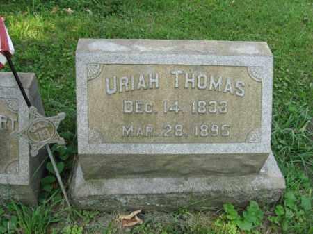 THOMAS, URIAH - Lehigh County, Pennsylvania | URIAH THOMAS - Pennsylvania Gravestone Photos