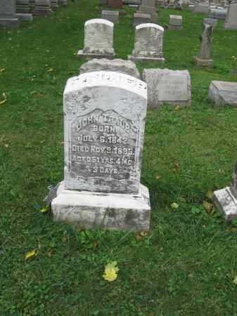 TRAUB, JOHN - Lehigh County, Pennsylvania | JOHN TRAUB - Pennsylvania Gravestone Photos