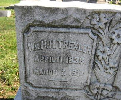 TREXLER (CW), WILLIAM H. H. - Lehigh County, Pennsylvania | WILLIAM H. H. TREXLER (CW) - Pennsylvania Gravestone Photos