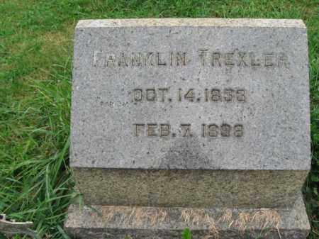TREXLER, FRANKLIN - Lehigh County, Pennsylvania   FRANKLIN TREXLER - Pennsylvania Gravestone Photos