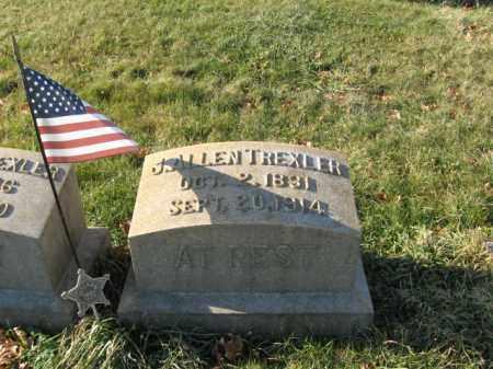 TREXLER, PVT. J.ALLEN - Lehigh County, Pennsylvania   PVT. J.ALLEN TREXLER - Pennsylvania Gravestone Photos