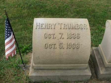 TRUMBOR, HENRY - Lehigh County, Pennsylvania | HENRY TRUMBOR - Pennsylvania Gravestone Photos