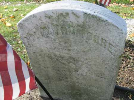 TRUMBORE, PVT.WILLIAM H. - Lehigh County, Pennsylvania | PVT.WILLIAM H. TRUMBORE - Pennsylvania Gravestone Photos