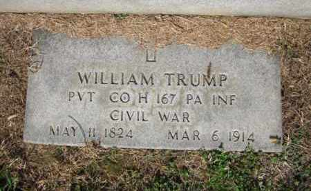 TRUMP (CW), WILLIAM - Lehigh County, Pennsylvania | WILLIAM TRUMP (CW) - Pennsylvania Gravestone Photos