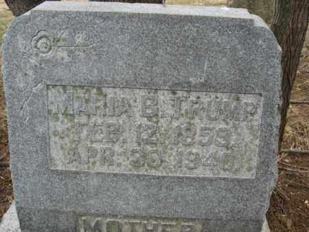 TRUMP, MARIA B. - Lehigh County, Pennsylvania | MARIA B. TRUMP - Pennsylvania Gravestone Photos