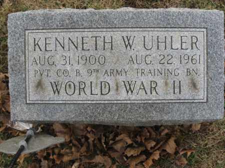UHLER, KENNETH W. - Lehigh County, Pennsylvania | KENNETH W. UHLER - Pennsylvania Gravestone Photos