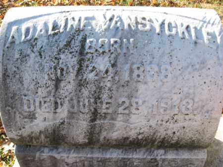 VANSYCKLE, ADALINE - Lehigh County, Pennsylvania   ADALINE VANSYCKLE - Pennsylvania Gravestone Photos