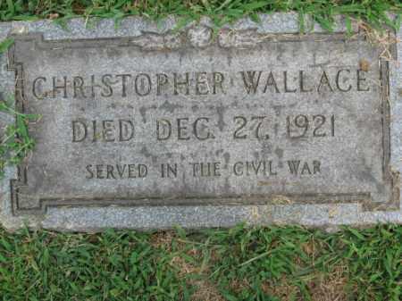 WALLACE (CW), CHRISTOPHER - Lehigh County, Pennsylvania | CHRISTOPHER WALLACE (CW) - Pennsylvania Gravestone Photos