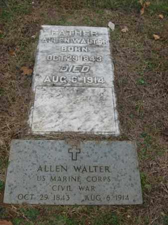 WALTER (CW), ALLEN - Lehigh County, Pennsylvania   ALLEN WALTER (CW) - Pennsylvania Gravestone Photos