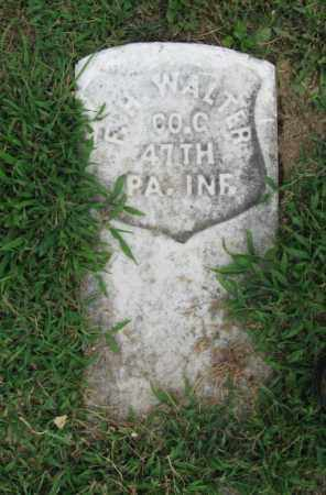 WALTER (CW), FREDERICK H. - Lehigh County, Pennsylvania   FREDERICK H. WALTER (CW) - Pennsylvania Gravestone Photos