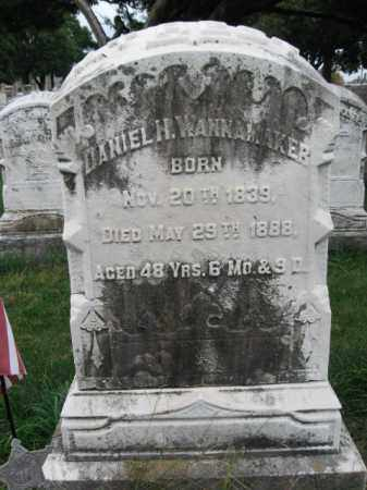 WANNAMAKER (CW), DANIEL H. - Lehigh County, Pennsylvania | DANIEL H. WANNAMAKER (CW) - Pennsylvania Gravestone Photos