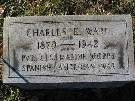 WARE, CHARLES E. - Lehigh County, Pennsylvania | CHARLES E. WARE - Pennsylvania Gravestone Photos