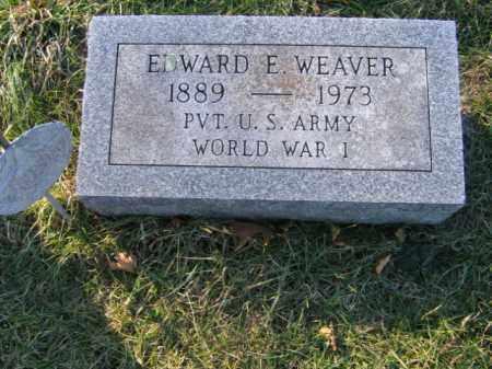 WEAVER, EDWARD E. - Lehigh County, Pennsylvania | EDWARD E. WEAVER - Pennsylvania Gravestone Photos