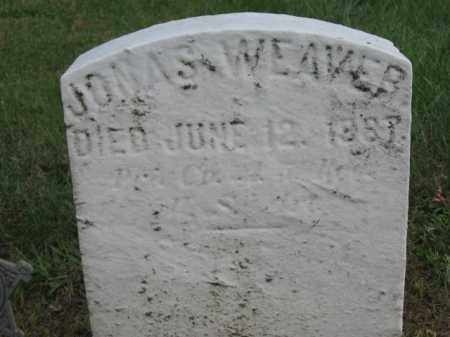 WEAVER, PVT.JONAS - Lehigh County, Pennsylvania   PVT.JONAS WEAVER - Pennsylvania Gravestone Photos