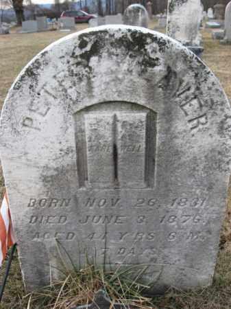 WEAVER, PETER - Lehigh County, Pennsylvania   PETER WEAVER - Pennsylvania Gravestone Photos