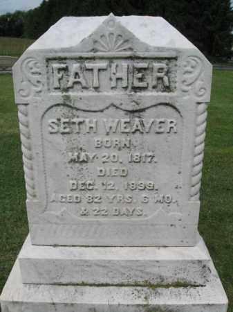 WEAVER, SETH - Lehigh County, Pennsylvania | SETH WEAVER - Pennsylvania Gravestone Photos
