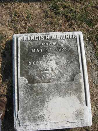 WEIDNER  (CW), PVT.FRANCIS H. - Lehigh County, Pennsylvania   PVT.FRANCIS H. WEIDNER  (CW) - Pennsylvania Gravestone Photos