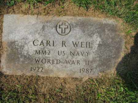 WEIL, CARL R. - Lehigh County, Pennsylvania | CARL R. WEIL - Pennsylvania Gravestone Photos