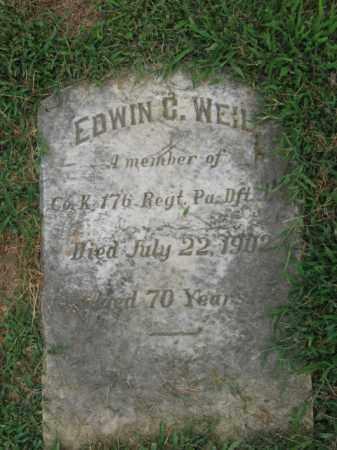 WEIL, EDWIN C. - Lehigh County, Pennsylvania | EDWIN C. WEIL - Pennsylvania Gravestone Photos