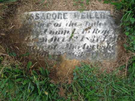 WEILER (CW), ISSADORE - Lehigh County, Pennsylvania | ISSADORE WEILER (CW) - Pennsylvania Gravestone Photos