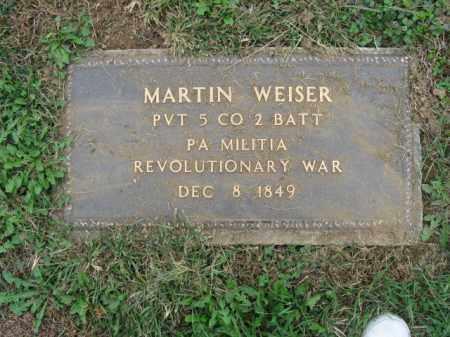 WEISER, MARTIN - Lehigh County, Pennsylvania | MARTIN WEISER - Pennsylvania Gravestone Photos