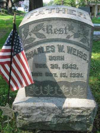 WEISS, CHARLES W. - Lehigh County, Pennsylvania | CHARLES W. WEISS - Pennsylvania Gravestone Photos