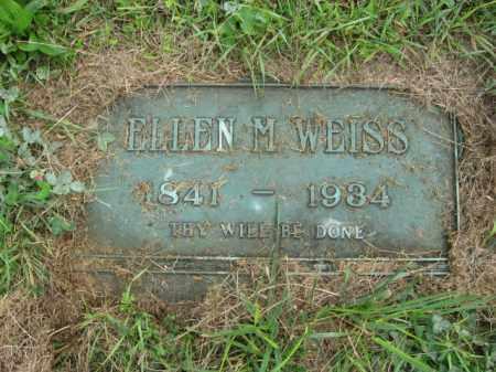 WEISS, ELLEN M. - Lehigh County, Pennsylvania   ELLEN M. WEISS - Pennsylvania Gravestone Photos