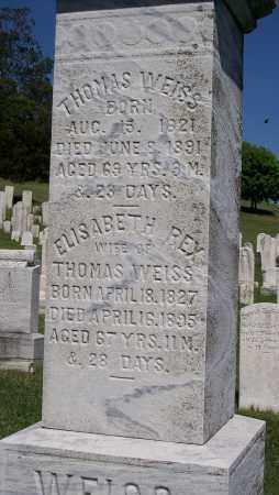 WEISS, THOMAS - Lehigh County, Pennsylvania | THOMAS WEISS - Pennsylvania Gravestone Photos