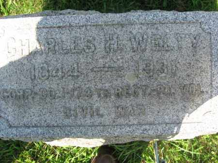 WELTY  (CW), CORP.CHARLES H. - Lehigh County, Pennsylvania | CORP.CHARLES H. WELTY  (CW) - Pennsylvania Gravestone Photos