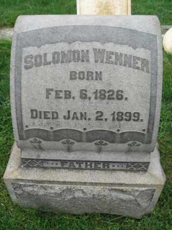 WENNER, SOLOMON - Lehigh County, Pennsylvania | SOLOMON WENNER - Pennsylvania Gravestone Photos
