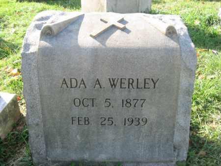 WERLEY, ADA A. - Lehigh County, Pennsylvania | ADA A. WERLEY - Pennsylvania Gravestone Photos
