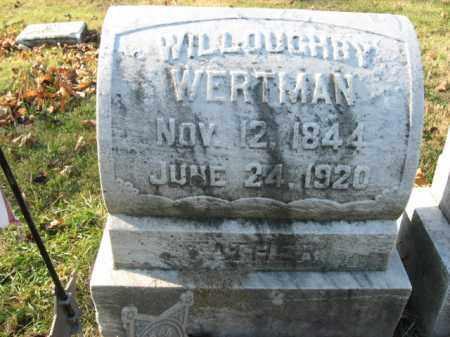 WERTMAN, PVT.WILLOUGHBY - Lehigh County, Pennsylvania | PVT.WILLOUGHBY WERTMAN - Pennsylvania Gravestone Photos