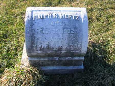 WERTZ, RALPH R. - Lehigh County, Pennsylvania   RALPH R. WERTZ - Pennsylvania Gravestone Photos