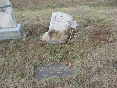 WETHERHOLD   (CW), PVT.ALLEN J. - Lehigh County, Pennsylvania | PVT.ALLEN J. WETHERHOLD   (CW) - Pennsylvania Gravestone Photos