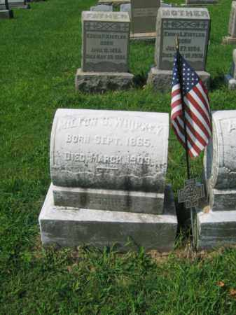 WHIPKEY, MILTON S. - Lehigh County, Pennsylvania | MILTON S. WHIPKEY - Pennsylvania Gravestone Photos