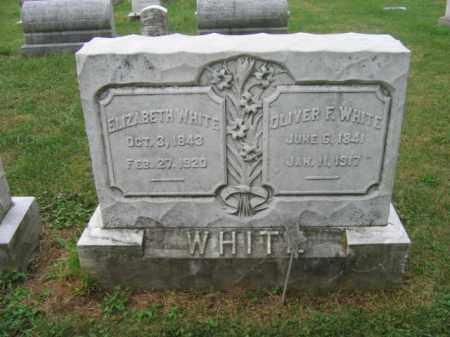 WHITE, OLIVER F. - Lehigh County, Pennsylvania   OLIVER F. WHITE - Pennsylvania Gravestone Photos