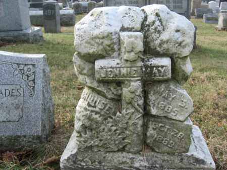 WHITEHOUSE, JENNIE MAY - Lehigh County, Pennsylvania | JENNIE MAY WHITEHOUSE - Pennsylvania Gravestone Photos