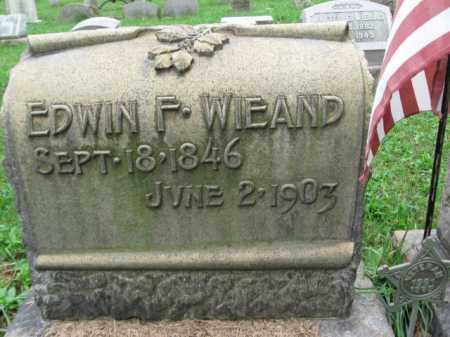 WIEAND, EDWIN F. - Lehigh County, Pennsylvania   EDWIN F. WIEAND - Pennsylvania Gravestone Photos
