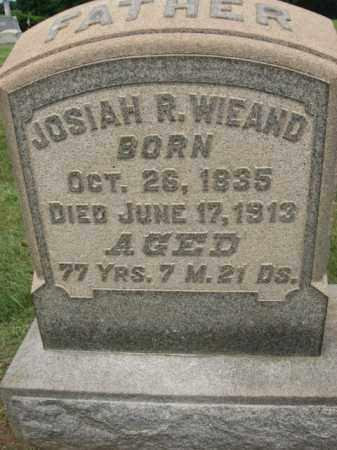 WIEAND, JOSIAH R. - Lehigh County, Pennsylvania   JOSIAH R. WIEAND - Pennsylvania Gravestone Photos