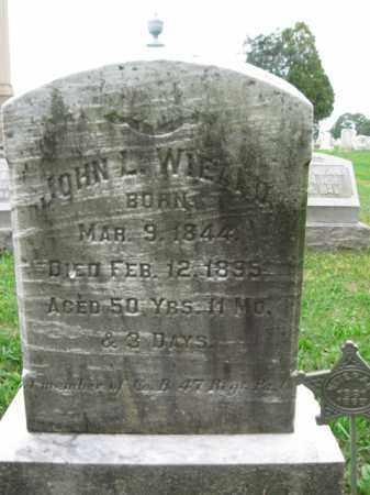 WIEAND, JOHN L. - Lehigh County, Pennsylvania   JOHN L. WIEAND - Pennsylvania Gravestone Photos