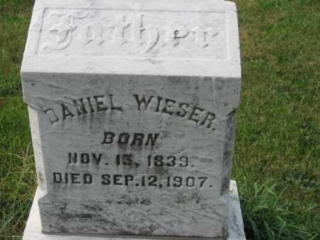 WIESER, DANIEL - Lehigh County, Pennsylvania | DANIEL WIESER - Pennsylvania Gravestone Photos