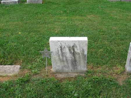 WILSON, LT. JAMES M. - Lehigh County, Pennsylvania   LT. JAMES M. WILSON - Pennsylvania Gravestone Photos