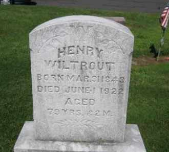 WILTROUT, HENRY - Lehigh County, Pennsylvania | HENRY WILTROUT - Pennsylvania Gravestone Photos