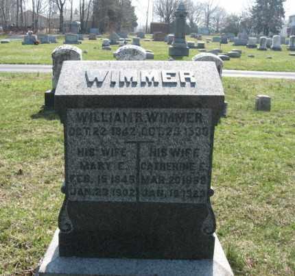 WIMMER (CW), WILLIAM R. - Lehigh County, Pennsylvania | WILLIAM R. WIMMER (CW) - Pennsylvania Gravestone Photos