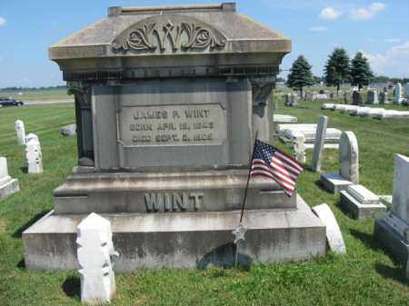 WINT, JAMES P. - Lehigh County, Pennsylvania | JAMES P. WINT - Pennsylvania Gravestone Photos