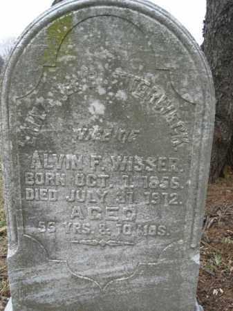 BUTTERWECK WISSER, EMMA - Lehigh County, Pennsylvania | EMMA BUTTERWECK WISSER - Pennsylvania Gravestone Photos