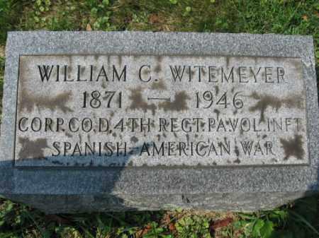 WITEMEYER, WILLIAM C. - Lehigh County, Pennsylvania | WILLIAM C. WITEMEYER - Pennsylvania Gravestone Photos