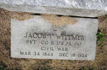 WITTMER (CW), JACOB TT. - Lehigh County, Pennsylvania   JACOB TT. WITTMER (CW) - Pennsylvania Gravestone Photos