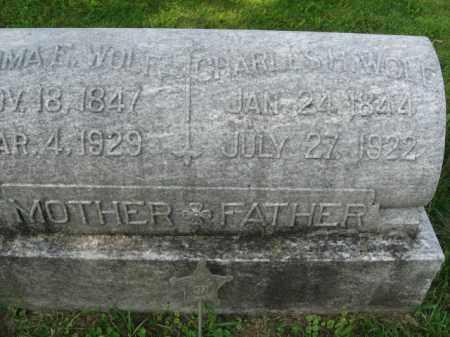 WOLF, CHARLES H. - Lehigh County, Pennsylvania   CHARLES H. WOLF - Pennsylvania Gravestone Photos
